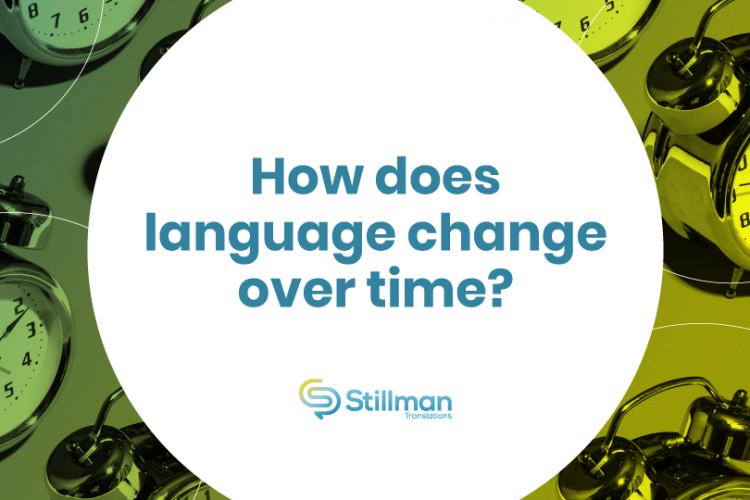 Language change over time
