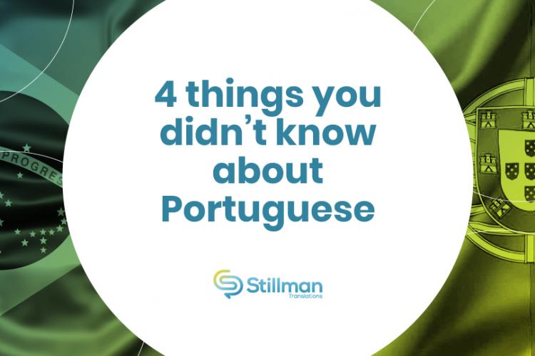 facts about Portuguese language