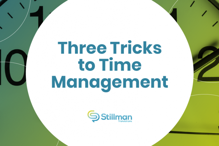 trick to time management