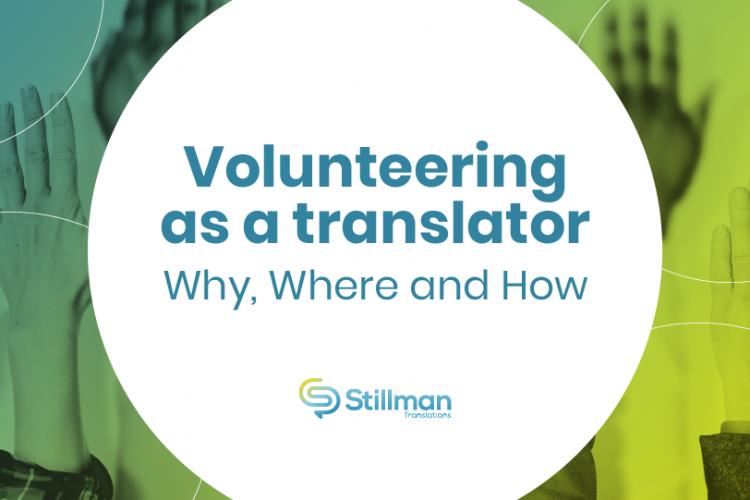 volunteering as a translator